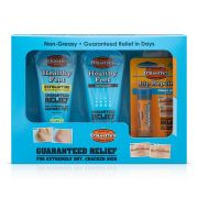 OKeeffes Skincare Gift Set for healthy feet Exfoliating 80g / Foot Cream 80g / Lip Cooling 42g