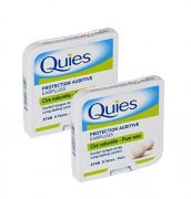 Quies Pure Natural Wax Ear Plugs Protection 8 pairs noise reduction - x2 Pack