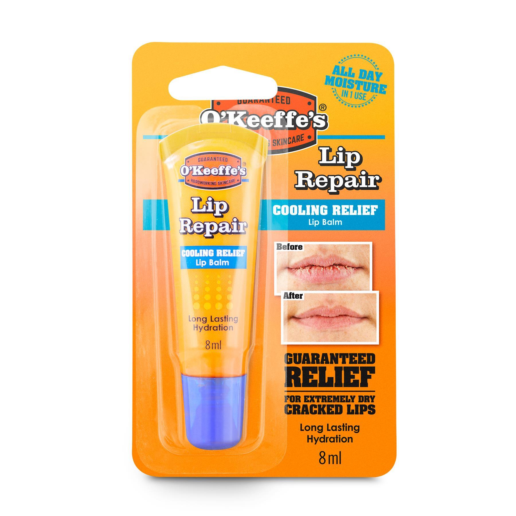 O'Keeffe's Lip Repair Cooling Relief Balm 8ml