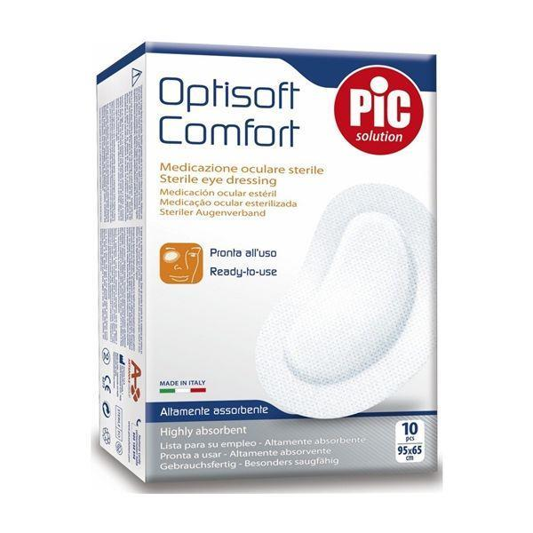 Pic Optisoft Comfort Adhesive Eye Pad 10 Pieces